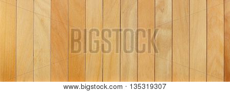 Wood plank brown texture background. Wooden timber planks, furniture surface background. Light brown painted wood texture. Boarded wood wall