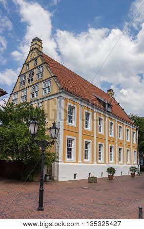 Old Building In The Historical Center Of Lingen