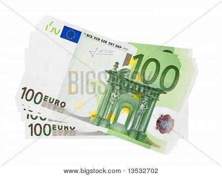 Notas de 100 Euro