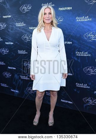 LOS ANGELES - JUN 15:  Elizabeth Mitchell arrives to the arrives to the Pretty Little Liars Season 7 Event  on June 15, 2016 in Hollywood, CA.
