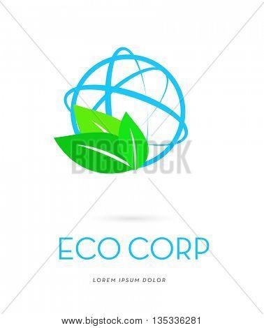GLOBE ECOLOGY , LOGO / ICON