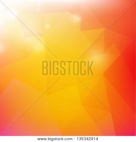 Origami Poster, Isolated on Transparent Background