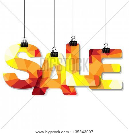 Colorful Sale Text
