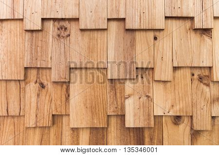 Vintage Wood Wall Texture Made From Wooden Planks