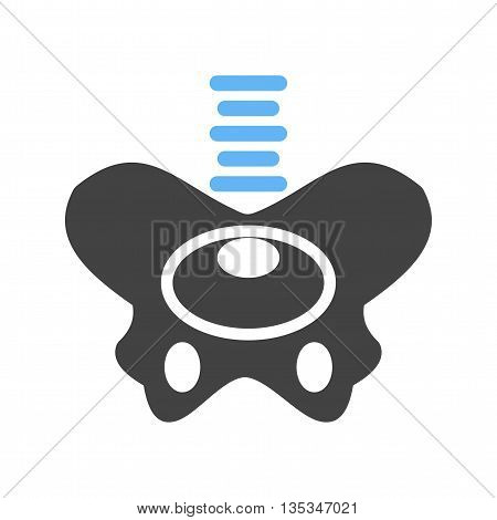 Hip, joint, human icon vector image. Can also be used for digital web. Suitable for mobile apps, web apps and print media.