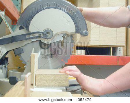 Chop Saw - Carpentry