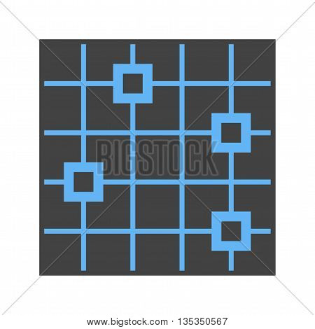 Statistics, graph, dotted icon vector image. Can also be used for infographics. Suitable for use on web apps, mobile apps and print media.