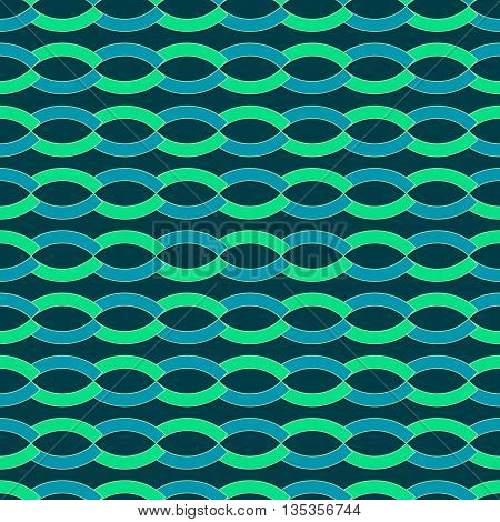 Wave geometric seamless pattern. Fashion graphic background design. Modern geometric stylish abstract texture. Colorful template 4 prints textiles wrappingwallpaper website etc VECTOR illustration