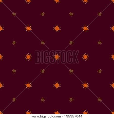 Star seamless pattern. Fashion graphic background design. Modern geometric stylish abstract texture. Colorful template for prints textiles wrapping wallpaper website etc. Stock VECTOR illustration