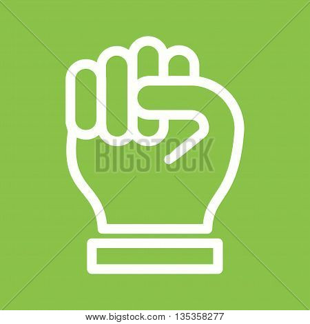 Sign, election, power icon vector image.Can also be used for elections. Suitable for web apps, mobile apps and print media.