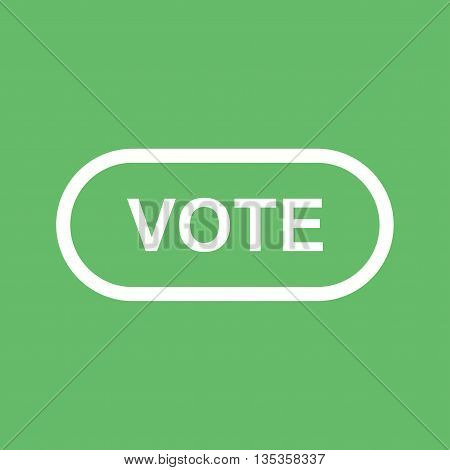 Online, vote, internet icon vector image.Can also be used for elections. Suitable for web apps, mobile apps and print media.