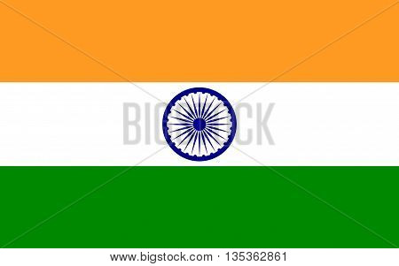 Flag of India officially the Republic of India is a country in South Asia.