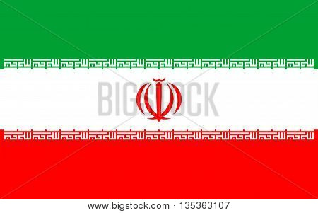 Flag of Iran also known as Persia officially the Islamic Republic of Ira is a sovereign state in Western Asia.