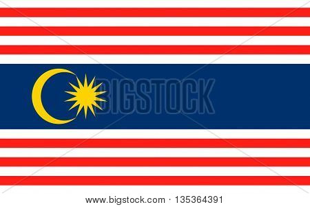 Flag of Kuala Lumpur is the national capital and most populous global city in Malaysia.
