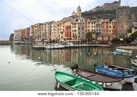 Porto Venere, Liguria. Italy.