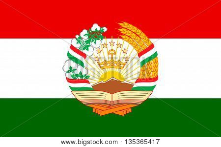 Flag of Tajikistan officially the Republic of Tajikistan is a mountainous landlocked country in Central Asia.
