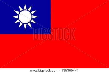Flag of Taiwan officially the Republic of China is a state in East Asia.
