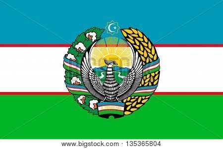 Flag of Uzbekistan officially the Republic of Uzbekistan is a doubly landlocked country in Central Asia.