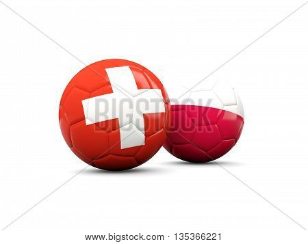 Poland And Switzerland Soccer Balls