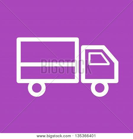 Security, van, delivery icon vector image. Can also be used for finances trade. Suitable for use on web apps, mobile apps and print media.