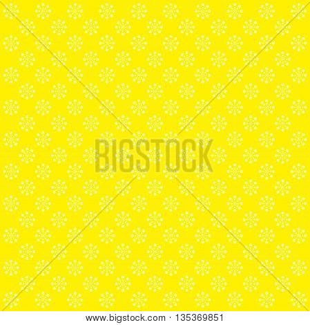 Abstract colorful background with circles. Yellow image.