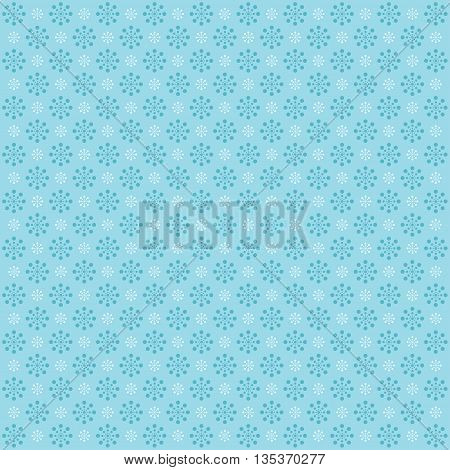 Abstract colorful background with circles . Blue image.
