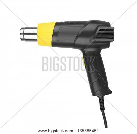 Heat gun isolated in a white background