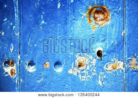 Stripped Paint  The Blue  R And Rusty