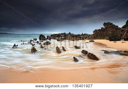 Jaws Of Stone Landscape Seascape