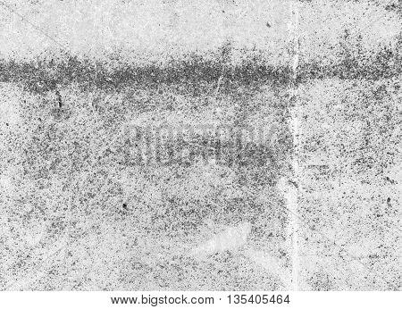 Empty Dark Gray Concrete Wall, Background