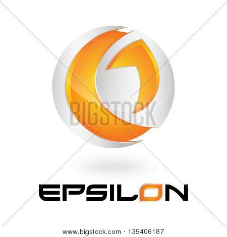 e 3d letter logo design 100% vector re editable and re sizable this will suitable for which letter starting with e
