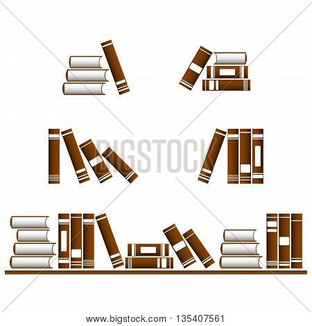 Vector Books Icons.