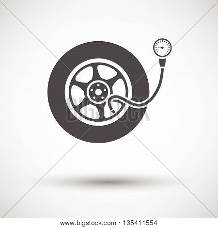 Tire Pressure Gauge Icon