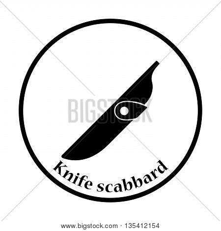 Knife Scabbard Icon