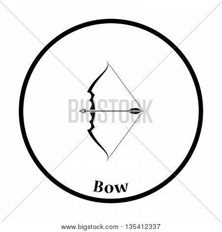 Bow With Arrow Icon