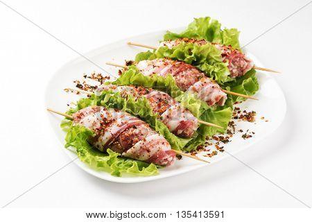 raw kebabs