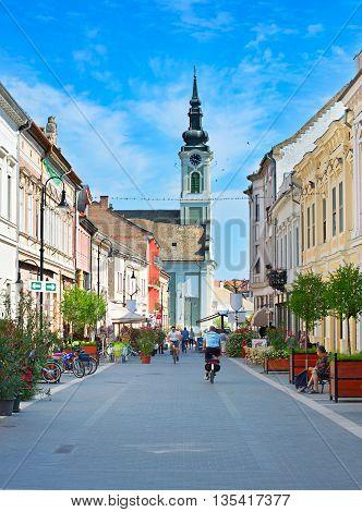 Baja Street, Hungary