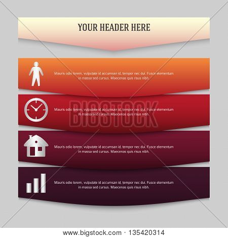 Design Element Page Booklet Style Infographics02