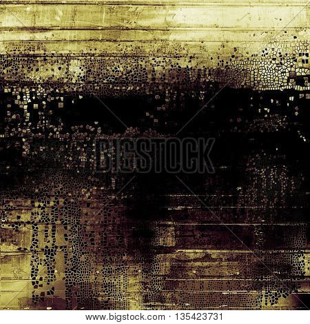 Colorful grunge background, tinted vintage style texture. With different color patterns: yellow (beige); brown; gray; purple (violet); black