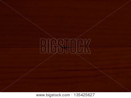 Background, texture of red darkened the cut wood.