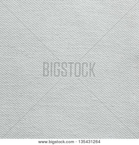 Closeup detail of white fabric texture background