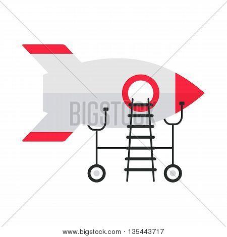 White Rocket On Repairs
