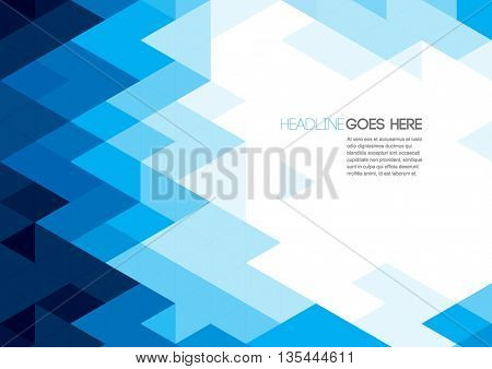 Vector of polygonal background