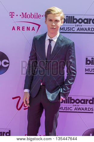 LAS VEGAS - MAY 22 : Actor Aidan Alexander attends the 2016 Billboard Music Awards at T-Mobile Arena on May 22 2016 in Las Vegas Nevada.