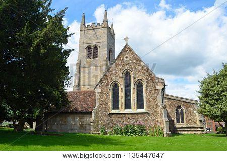 St Mary's Church Eynesbury St Neots Cambridgeshire.