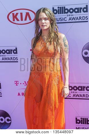 LAS VEGAS - MAY 22 : Singer Tove Lo attends the 2016 Billboard Music Awards at T-Mobile Arena on May 22 2016 in Las Vegas Nevada.