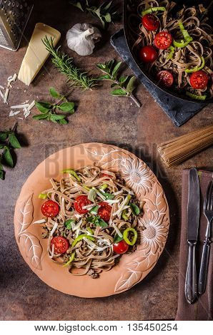Whole Grain Pasta With Cheese