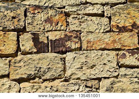 Stone Wall Building. Texture stone wall. Stone wall.