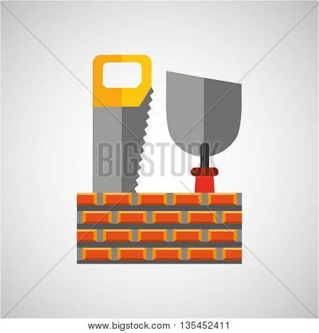 construction tools design, vector illustration eps10 graphic