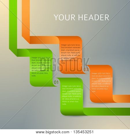 Design Element Page Booklet Style Infographics06